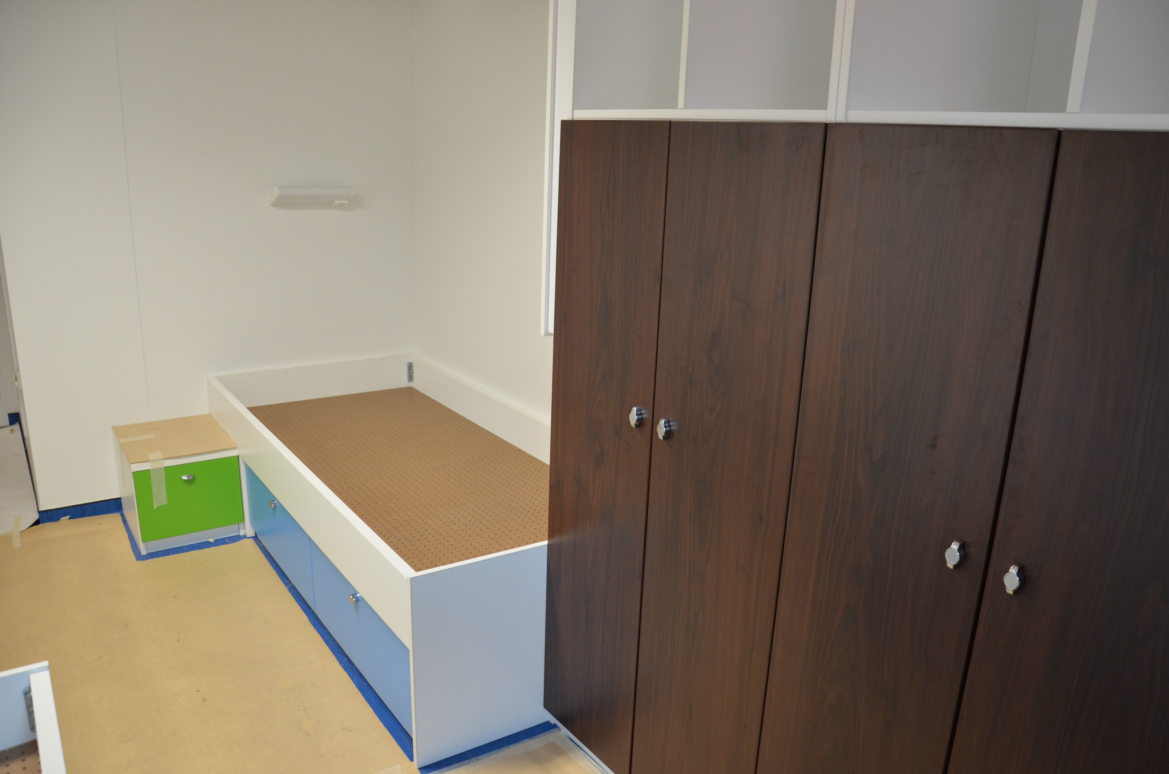 Offshore furniture from our own carpentry shop