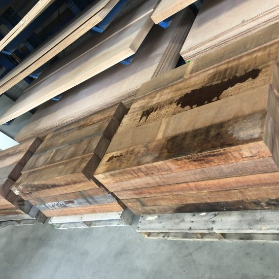 Woodwork and lifting bumpers